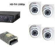 Комплект цифрового видеонаблюдения HD-TVI 1080p на 8 внутренних камер