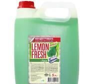 Lemon Fresh - рідина для миття посуду - зелений