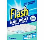 Губки для прибирання у ванній кімнаті Flash Magic Eraser (2 шт.) США