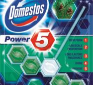 """Средство для унитаза Domestos Power 5 """"Хвойная свежесть"""" формула 5 в 1,"""