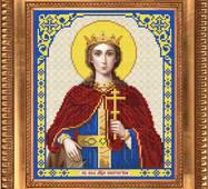 Заготовка для вишивки ікони Святої Катерини