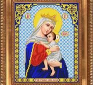 Заготовка для вишивки ікони Пр Богородиці Відчаєних Єдина Надія