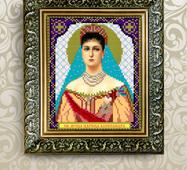 Заготовка для вышивки иконы Святой Аксандры