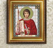 Заготовка для вышивки иконы Святого Георгия