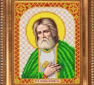 Заготовка для вышивки иконы Святого Серафима