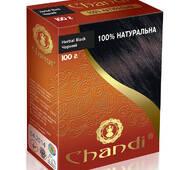 Лечебная аюрведическая краска для волос Chandi. Черный, 100г