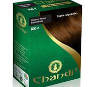 Краска для волос Chandi. Серия Органик. Каштановый, 100г