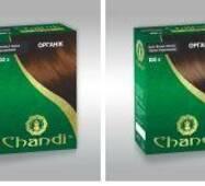Краска для волос Chandi. Серия Органик. Золотисто-Бронзовий, миниатюра, 30г