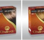 Лечебная аюрведическая краска для волос Chandi Золотой, миниатюра, 30г