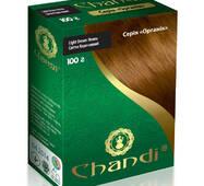 Краска для волос Chandi. Серия Органик. Светло-коричневый, 100г