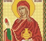 Заготовка для вишивки ікони Святої Марії Магдалини