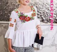 Заготовка  для вишивки жіночої сорочки  СЖ-32