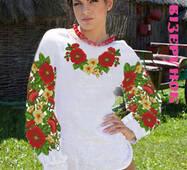 Заготовка  для вишивки жіночих сорочок  СЖ-21