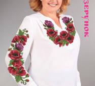 Заготовка  для вишивки жіночих сорочок  СЖ-23