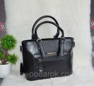 Стильная женская кожаная сумка.
