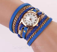 Молодежные женские часы. Синие.