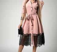 Жіноче стильне плаття, міді 700