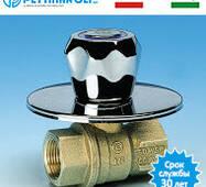 """Кран прихованої розводки 1/2"""" з голівкою Pettinaroli Італія"""