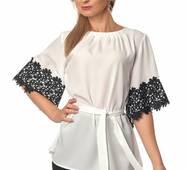 Жіноча ніжна блуза  416