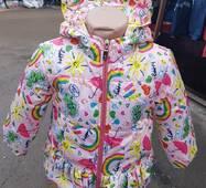 Дитяча куртка  для дівчинки