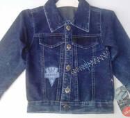 Куртка джинсова оптом 4-6 років