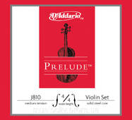 Струни для скрипки D'Addario J810 4/4M Prelude