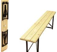 Скамейка складная рейка сосны (1200х300х460) мм.