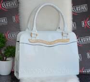 Женская сумка белая.