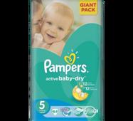 Підгузники Pampers Active Baby 5-ка (11-25 кг) 64 шт
