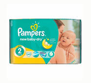 Подгузники Pampers Active Baby-Dry 2 (3-6кг) 43шт