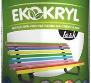 """Краска акриловая """"EKOKRYL V 2062"""" глянцевая желтая 0,6л. (0,72кг.)"""