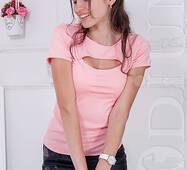 Женская футболка Indigo (ROSE)