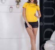 Женская футболка Iggy (YELLOW)