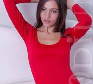 Женское боди Slim (RED)