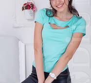 Женская футболка Indigo (MINT)