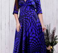 Платье 8512365-3 электрик Зима 2017 Украина