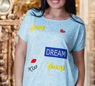 Футболка 850561 голубой Лето 2016 Украина