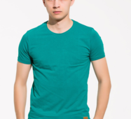 Мужская футболка Силует бирюза