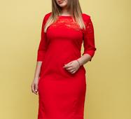 Женское платье Адри красный