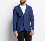 Мужской пиджак 15679 синий