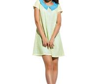 Женское платье Санди лимон с ментолом