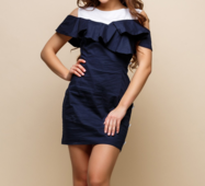 Женское платье Кикиморы синий