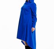Женское платье большого размера Санди электрик