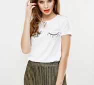 Женская футболка 18640
