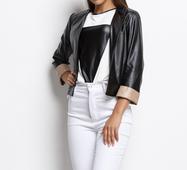 Женский пиджак 16001 черный