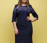 Женское платье Адри темный синий