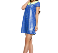Женское платье Санди электрик с лимоном
