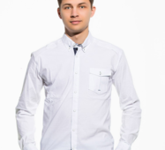 Мужская рубашка Классика белая