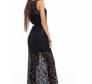 Женское нарядное платье Васса черный
