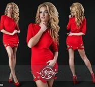 Платье - 13782 (красный)